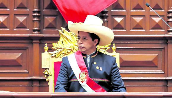 Según RPP este sería el tenor de su visita. Se espera que el mandatario Pedro Castillo retorne a Lima por la tarde de este lunes 11 para continuar con sus actividades oficiales. (Foto: Presidencia)