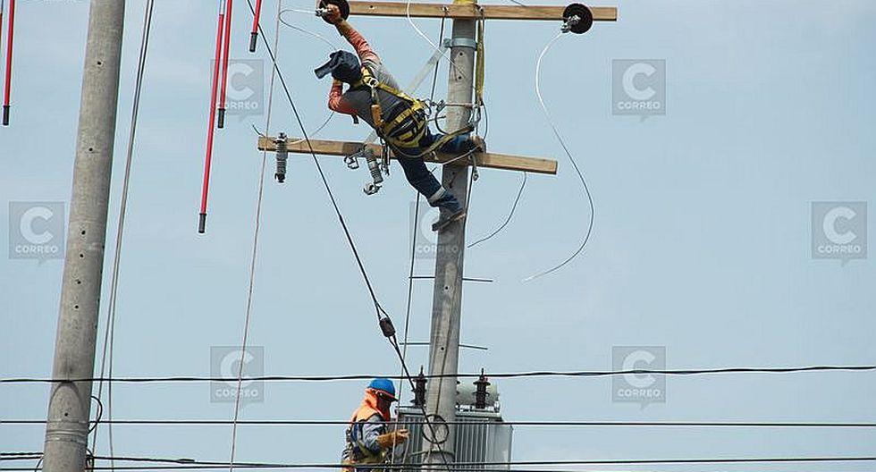 Corte del servicio de energía en Caylloma y distritos de Arequipa