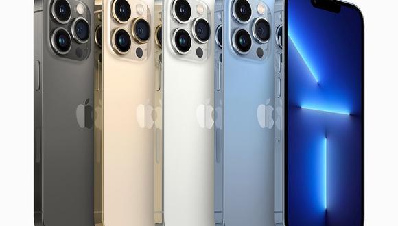 Apple lanzó el nuevo iPhone 13, que costará desde US$ 699 en su versión más simple, hasta los US$ 1,599 del iPhone 13 Pro Max de 1 tb. (Foto: EFE)
