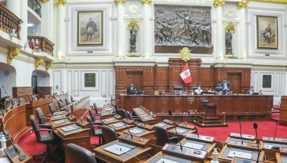 El pleno del Congreso sesionará para debatir reformas constitucionales. (Foto: Congreso)