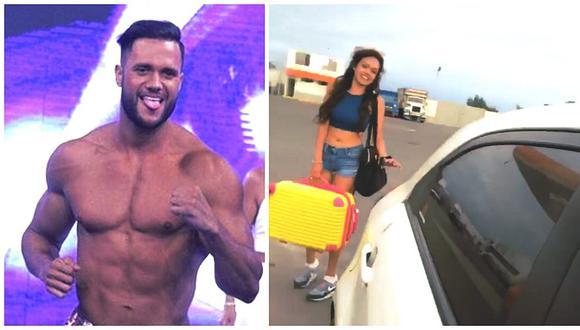 Fabio Agostini comparte en Instagram pesada broma que le hizo a Mayra Goñi (VIDEO)