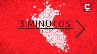 Noticias de Tacna, Huancavelica y Piura en 3 minutos 3 regiones
