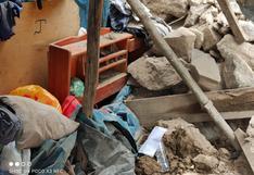 Niña de 6 años fallece tras ser aplastada por muro de vivienda en Ayacucho