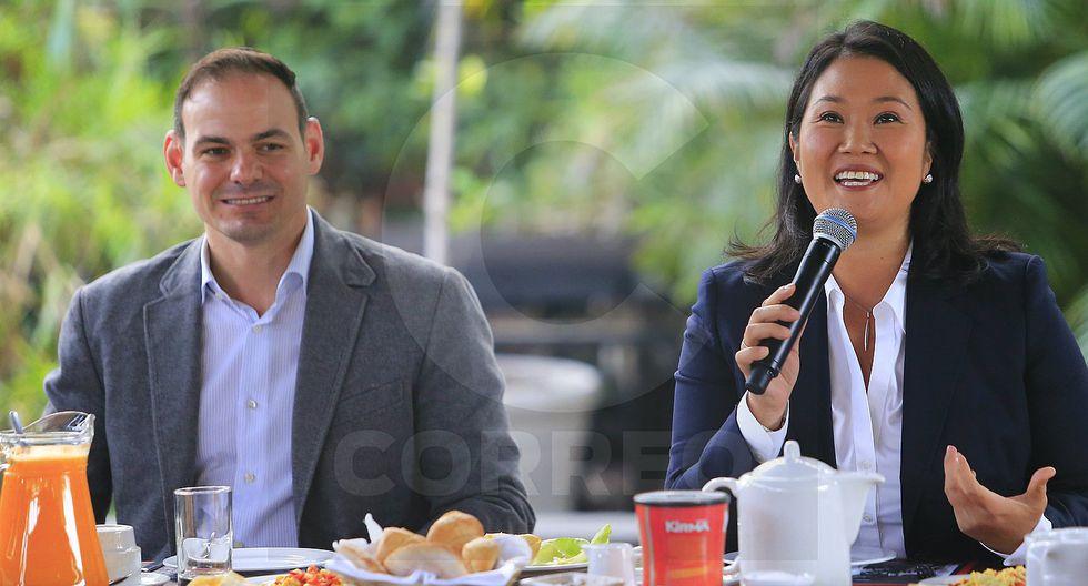 Patrimonio de Keiko Fujimori y su esposo creció más de 400 mil soles en 18 meses