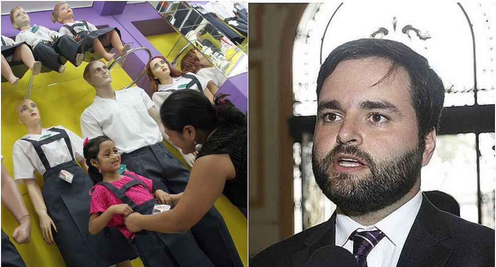 Alberto de Belaunde pide que uso de falda escolar no sea obligatorio en los colegios