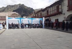 Gobernador Regional de Huancavelica indica que es muy difícil enfrentar la pandemia (FOTOS)