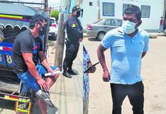 Lambayeque: Banda de hampones encabezada por fémina asalta a dos obreros