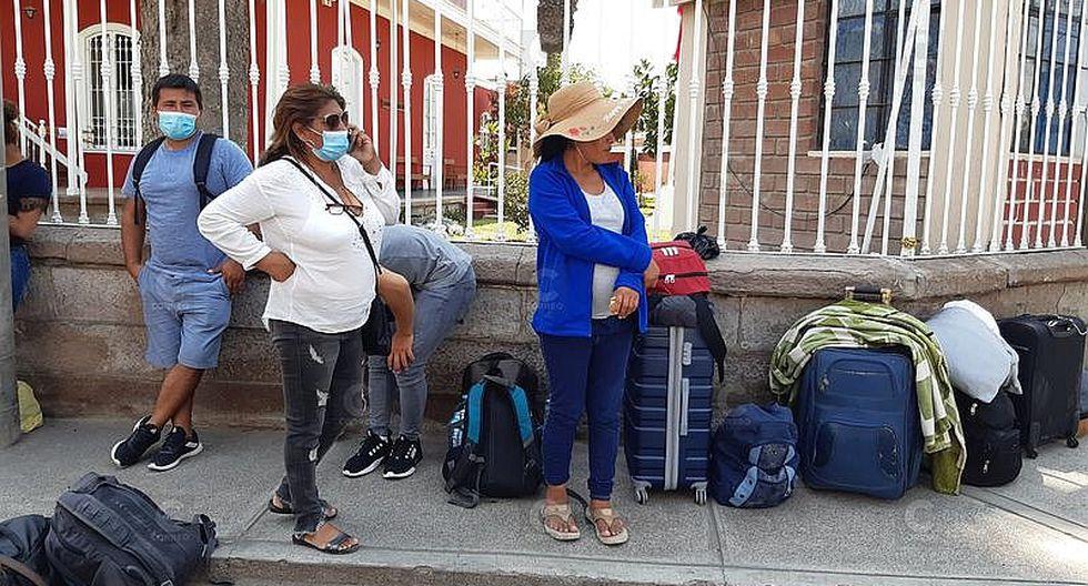 Peruanos varados en Tacna piden apoyo para llegar a sus ciudades