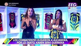 Ducelia Echevarría discute con Rosángela Espinoza: Aquí tú no tienes amigas en Esto es Guerra (VIDEO)