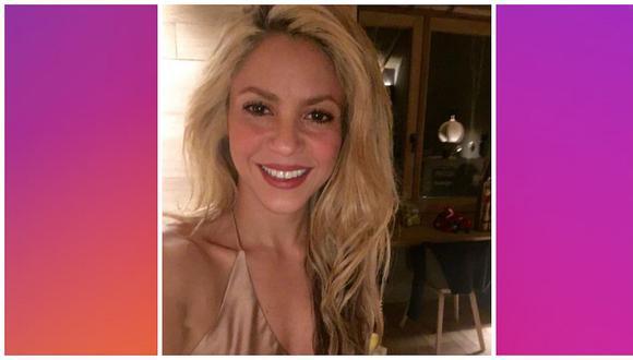 Shakira a los 40: cantante se mostró con diminuto vestido y remeció Instagram (FOTO)