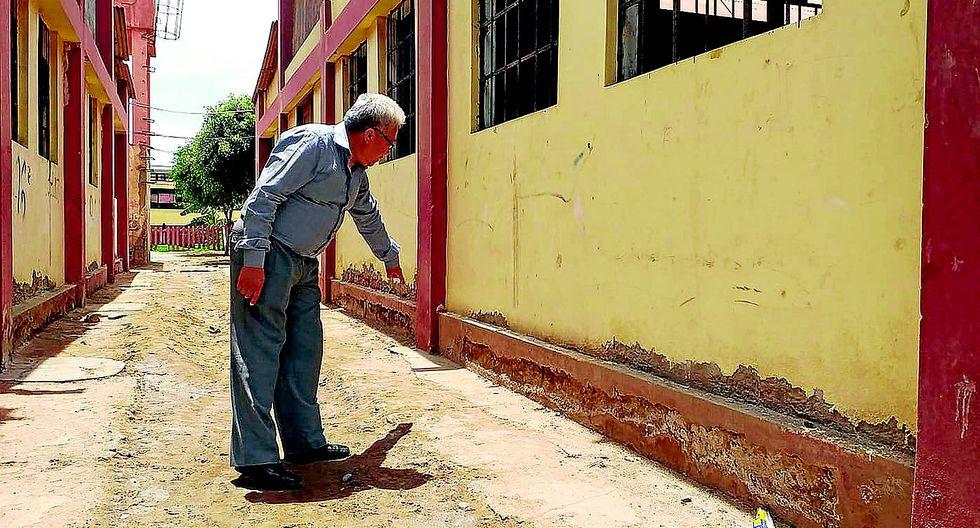Exigen reconstrucción de colegio Politécnico