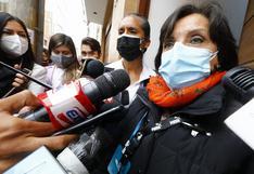 """Dina Boluarte sobre Abimael Guzmán: """"En Consejo de Ministros no se votó por ninguna posición"""""""