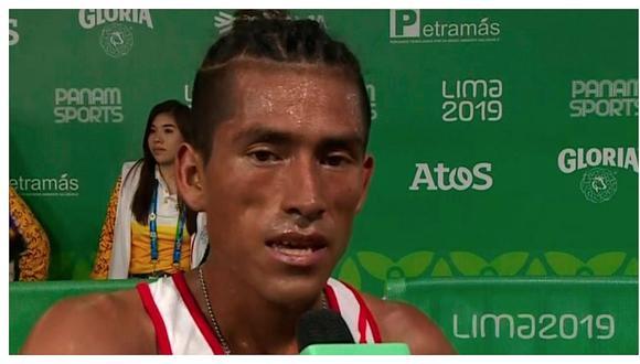 José Luis Rojas criticó a la Federación Peruana de Atletismo tras su participación en Lima 2019