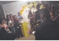 Intervienen a 50 personas en fiesta de cumpleaños realizada en Tumbes