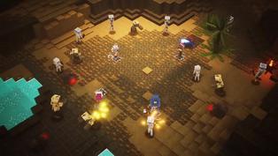 El último 'Minecraft Dungeons' llega a Steam con cross-save y cross-play