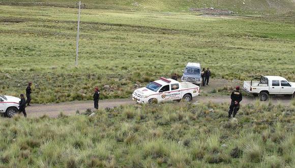 Policía inició las investigaciones correspondientes