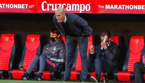 Zinedine Zidane confiando en llegar a octavos de final de Champions (Foto: AP)