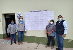 Gerencia de Agricultura publica padrón para formalización de predios en Chichas