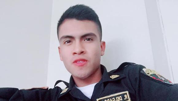 El suboficial Rafael Delgado Flores trabajaba en la comisaría de San Juan de Miraflores. (Foto: Facebook)