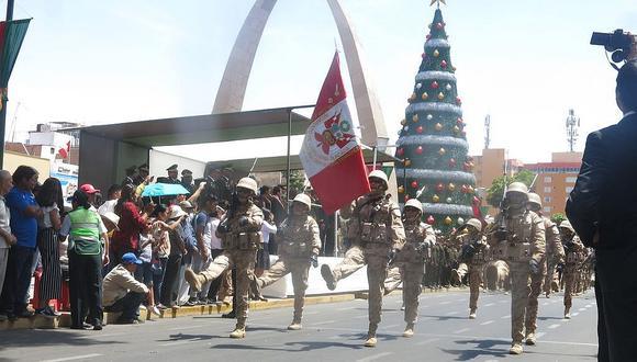Militares celebran Día del Ejército
