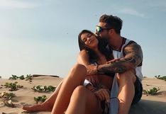 Nicola Porcella envía amoroso mensaje su pareja Alejandra Campaña