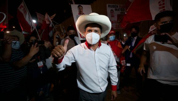 Pedro Castillo, candidato presidencial por Perú Libre. (Foto: GEC)