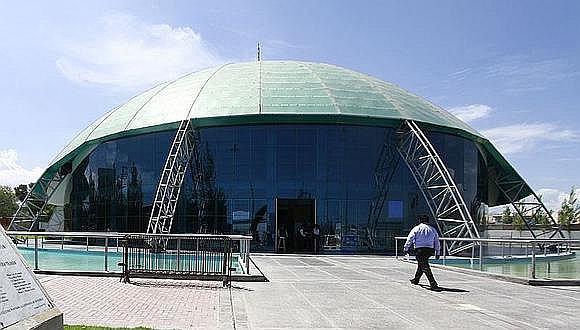 Arequipa: Tras aprobación de Cultura se iniciará retiro del domo verde