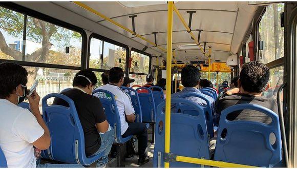Subsidio apunta a beneficiar a empresas de transporte público tanto de Lima y Callao, como de las provincias del interior del país.