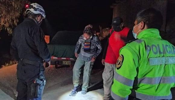 Pareja se desorientó para retornar de las cataratas de Sogay y pidió ayuda a los efectivos