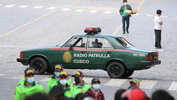 Transformers Cusco. Foto: J. Sequeiros.
