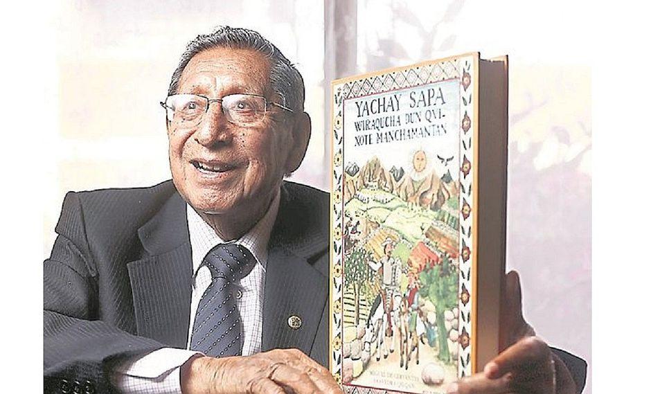 """Fallece Demetrio Túpac Yupanqui, traductor de """"El Quijote"""" al quechua"""