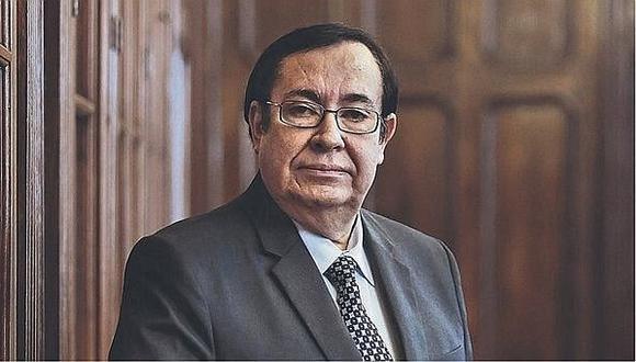 Juez supremo respalda la continuidad de Víctor Prado como presidente del Poder Judicial