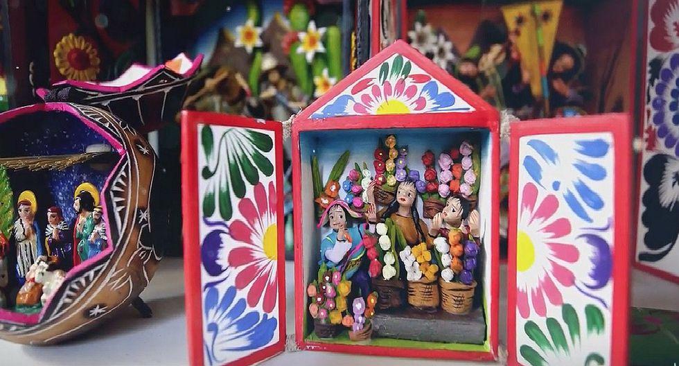 Retablo ayacuchano ya es Patrimonio Cultural de la Nación (VIDEO y FOTOS)