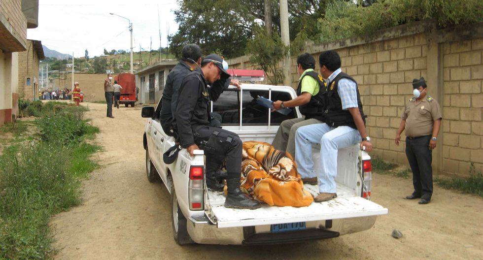 Hallan cadáver de varón en grifo clandestino de La Oroya