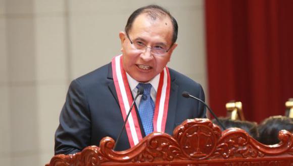 Ticona indicó que el período del representante del CAL, Raúl Chanamé Orbe, venció el pasado 4 de julio, mientras que el de los decanos de las universidades públicas, Ezequiel Chávarry Correa, el pasado domingo 6 de setiembre.  (Foto: GEC)