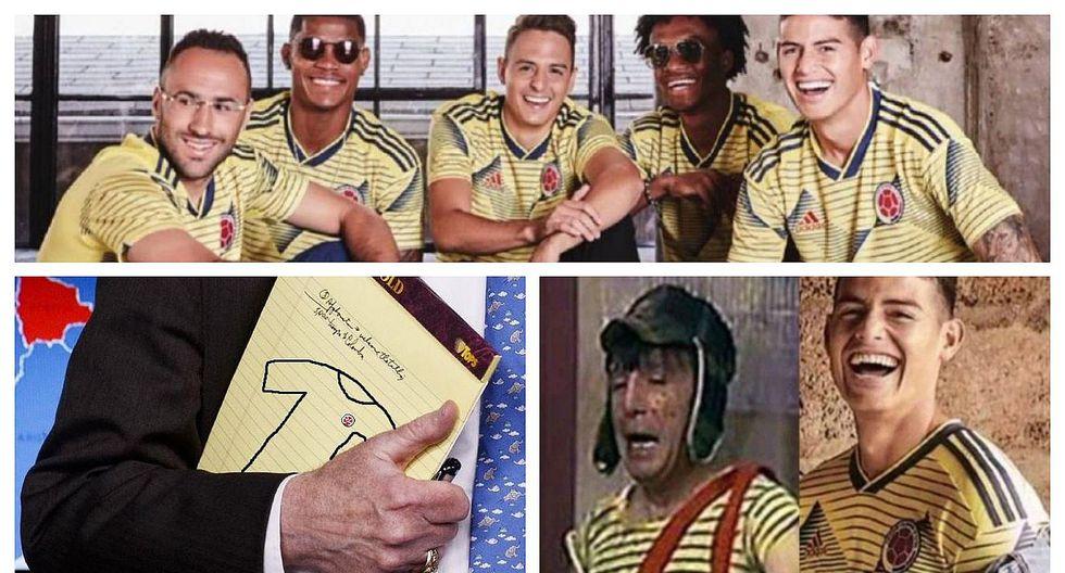 Crean memes de la nueva camiseta de la selección colombiana (FOTOS)