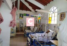 Pacientes COVID-19 son atendidos en capilla de hospital EsSalud en Huánuco