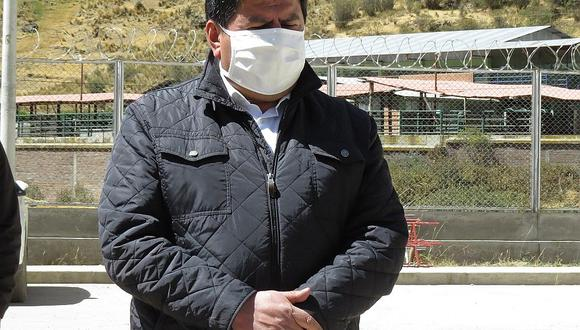 Huancavelica: Gobernador Maciste Díaz da positivo a coronavirus