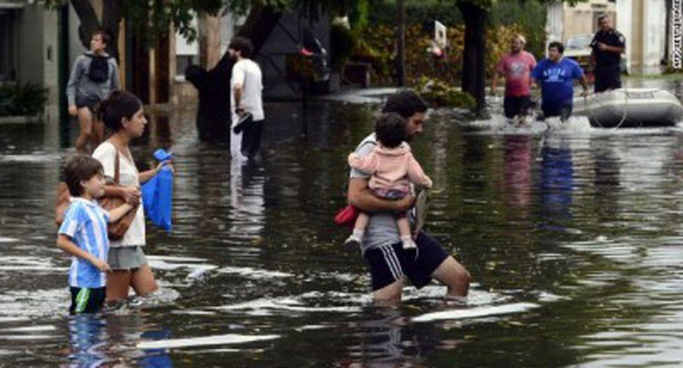 Argentina: Lluvia deja 3 muertos y más de 200 evacuados