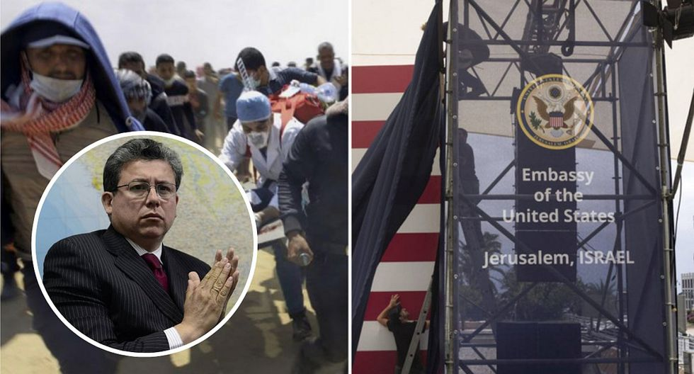 """Miguel Rodríguez Mackay: """"Embajada de EE.UU. en Jerusalén indica que no les importa la vida de las personas"""""""