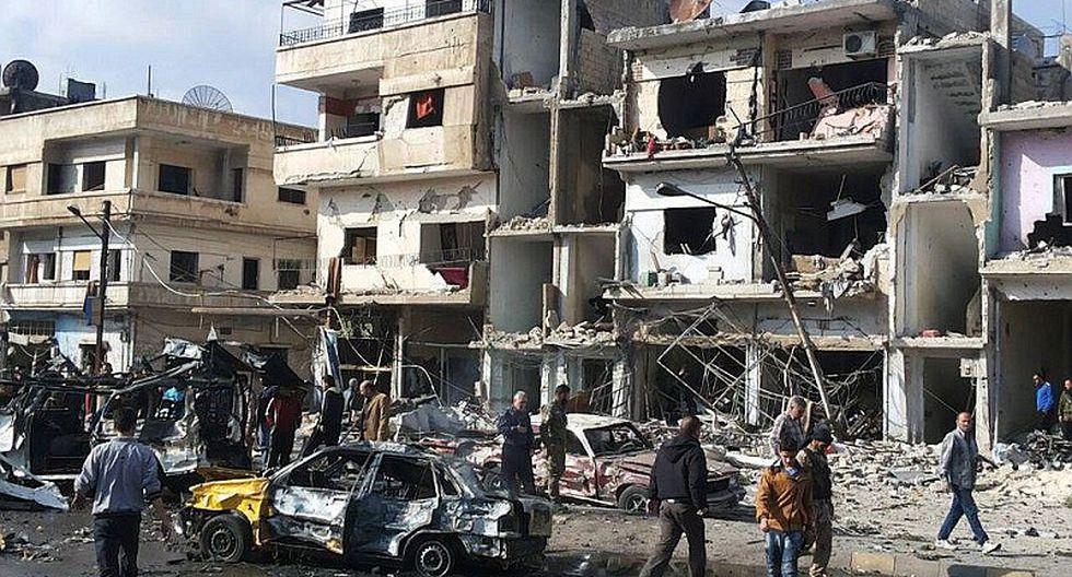 Al menos 8 muertos deja atentado en el centro de Damasco