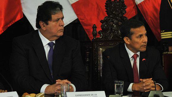 García acusa a Humala de recibir financiamiento de César Álvarez y Gregorio Santos