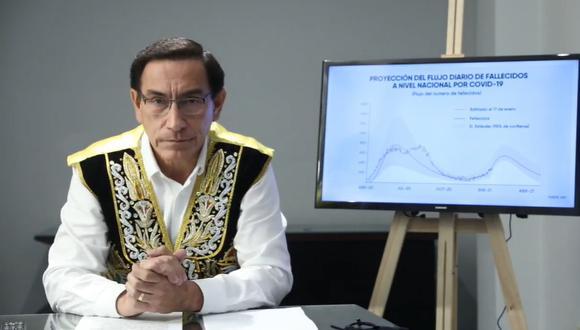 Martín Vizcarra pide al Gobierno posponer los comicios por la segunda ola del COVID-19 (Facebook)