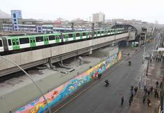 Metro de Lima: Servicio en 26 estaciones funciona con normalidad tras caída de poste por sismo en la capital