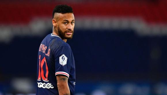 Neymar fue sancionado con dos partidos. (Foto: AFP)