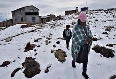 Temperatura en la región Puno descenderá hasta -18°C