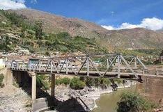 Por mantenimiento puente de Izcuchaca será cerrado