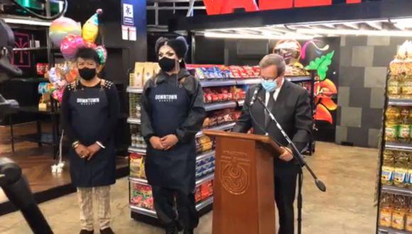 Vale Todo Downtown inauguró su atención como minimarket tras adaptarse a la pandemia | VIDEO
