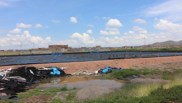 Con este trabajo se busca mejorar la calidad del vertimiento de las aguas residuales. (Foto: Feliciano Gutiérrez)