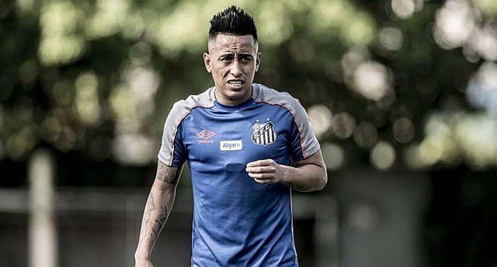 Christian Cueva fue contratado por el Santos procedente del Krasnodar. (Foto: Agencias)